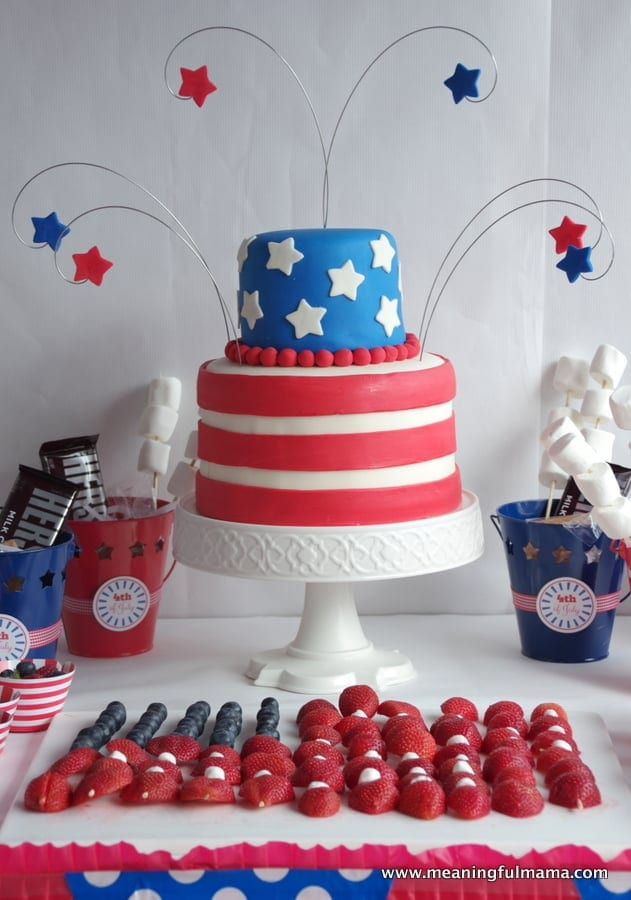 1-fourth of july cake Jul 4, 2014, 4-002