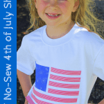 DIY No-Sew Fourth of July Shirt