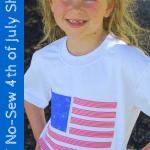 DIY No-Sew Fourth of July Shirt