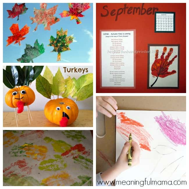 4 leaf crafts activities for kids
