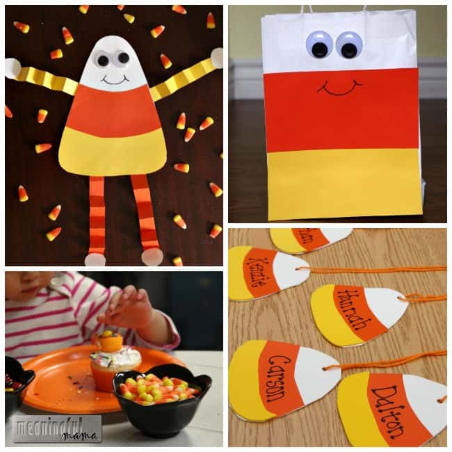 candy corn craft ideas harvest party