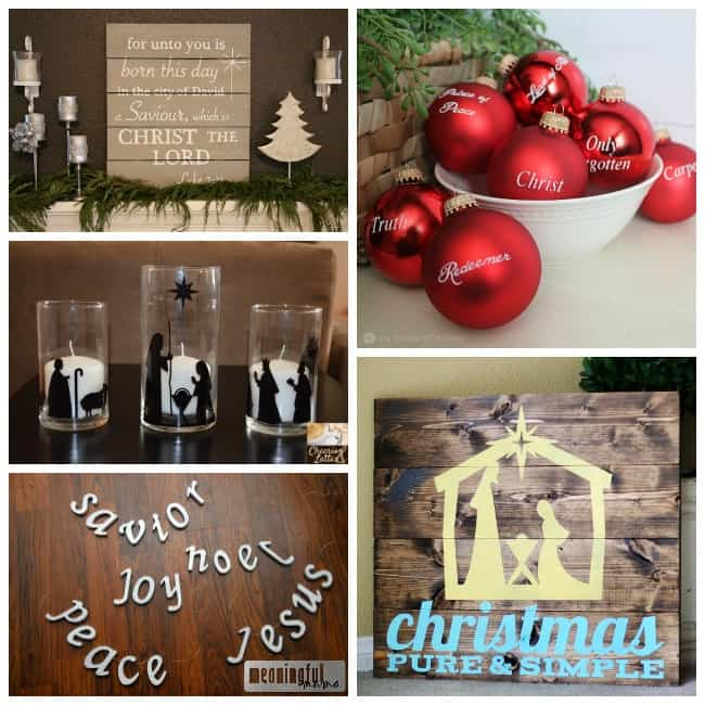 christ-centered christmas decorations