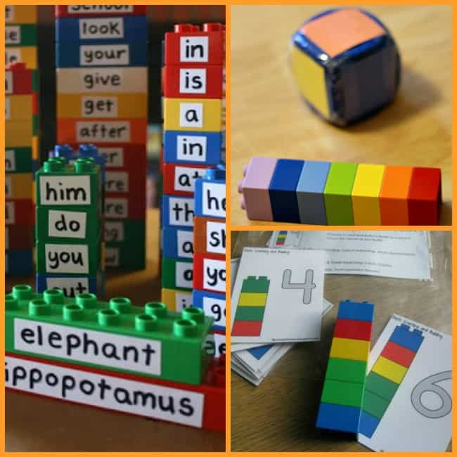 lego duplo learning activities