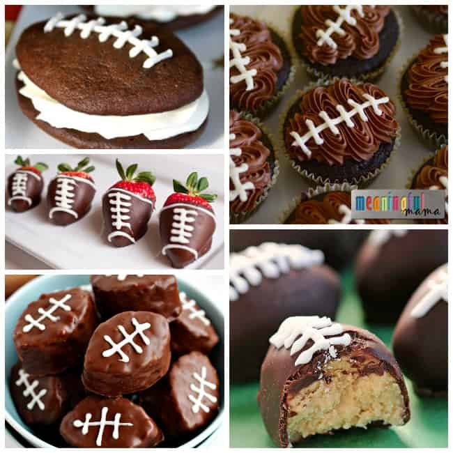 football food dessert party ideas