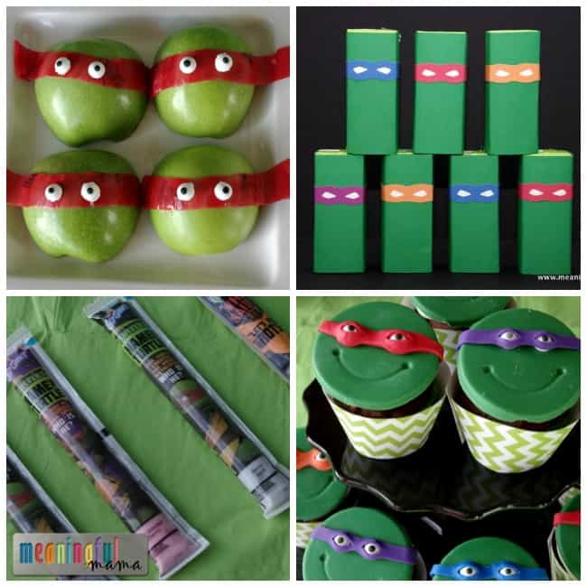 teenage mutant ninja party food ideas