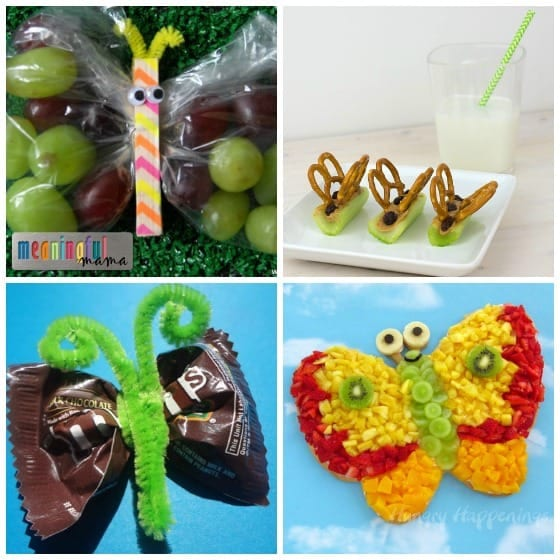 Butterfly Food Ideas - Butterfly Themed Party