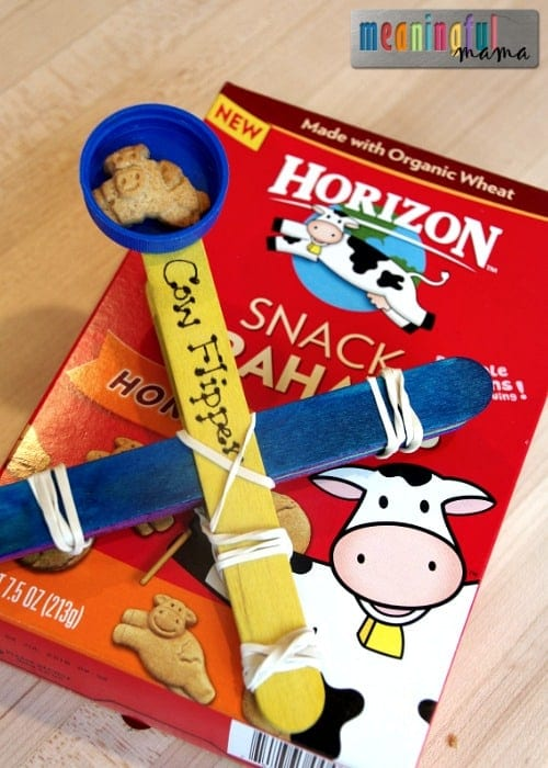 Cow Flipping - Making Snacking Fun with Horizon Snacks