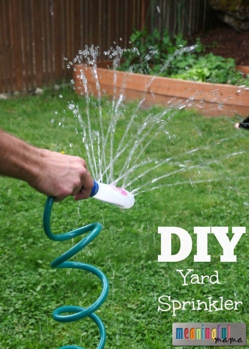 DIY Yard Sprinkler - Up-cyle Summer Hack