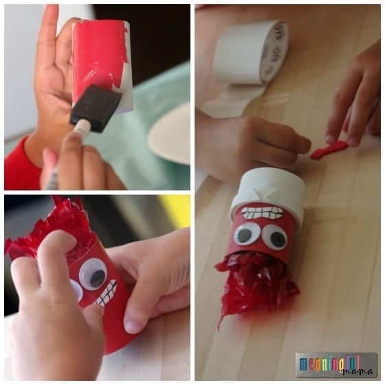 Fear - Pixar Inside Out Craft
