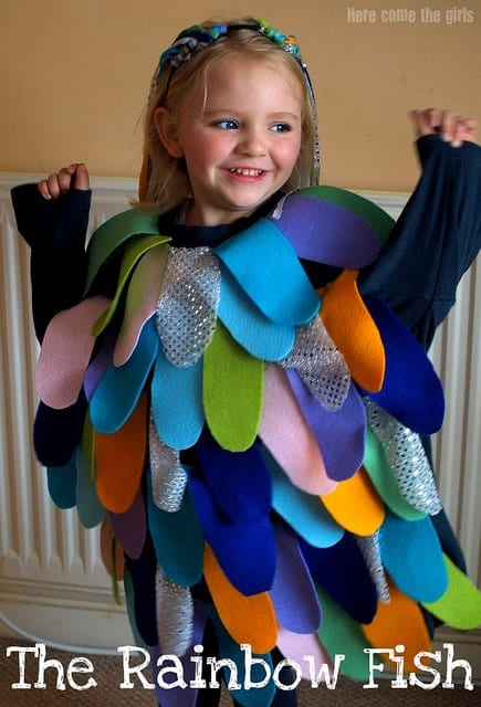 The Rainbow Fish Costume - Book Character Costumes