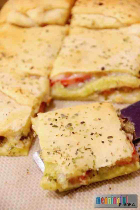 Caprese Crescent Appetizer Recipe - Great Appetizers
