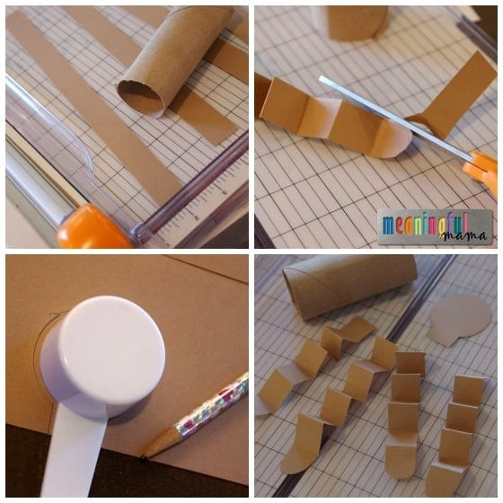 Gingerbread Toilet Paper Craft Tutorial