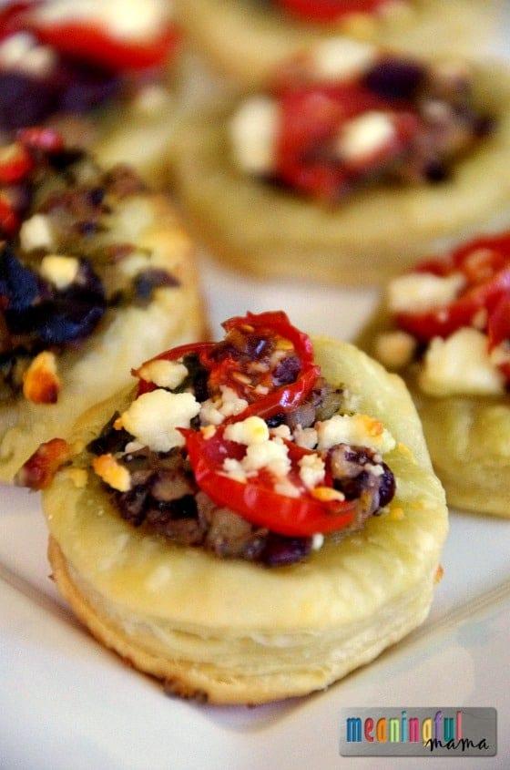 Mediterranean Tartlet Appetizer Recipe - Party Food