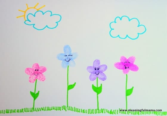 1-Fingerprint Flower Craft Apr 7, 2016, 1-20 PM