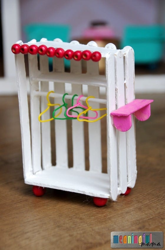 homemade dollhouse furniture. diy dollhouse furniture armoire u2013 our was inspired by one we found on pinterest i always like to link back the original source but couldnu0027t homemade y