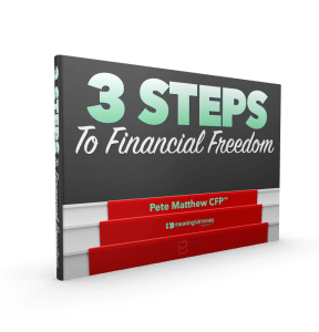 Three steps to financial freeedom