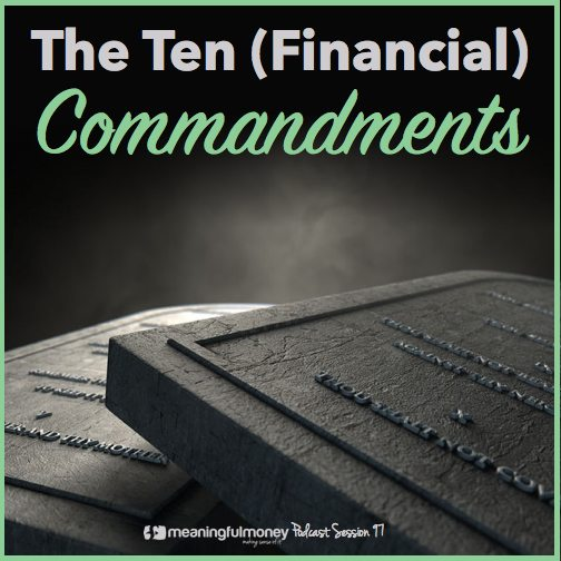 Ten Financial Commandments|Ten Financial Commandments
