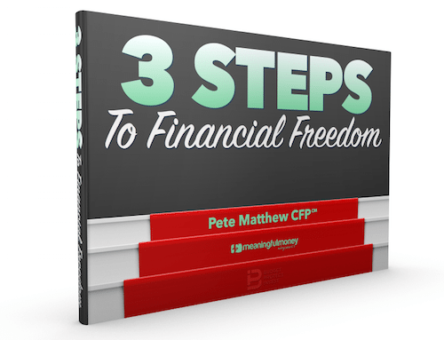 3 Steps to financial freedom eBook