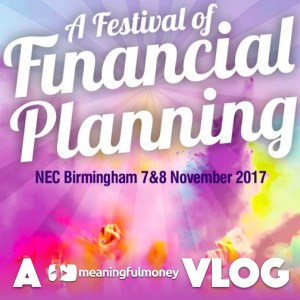 A Vlog – PFS Festival of Financial Planning