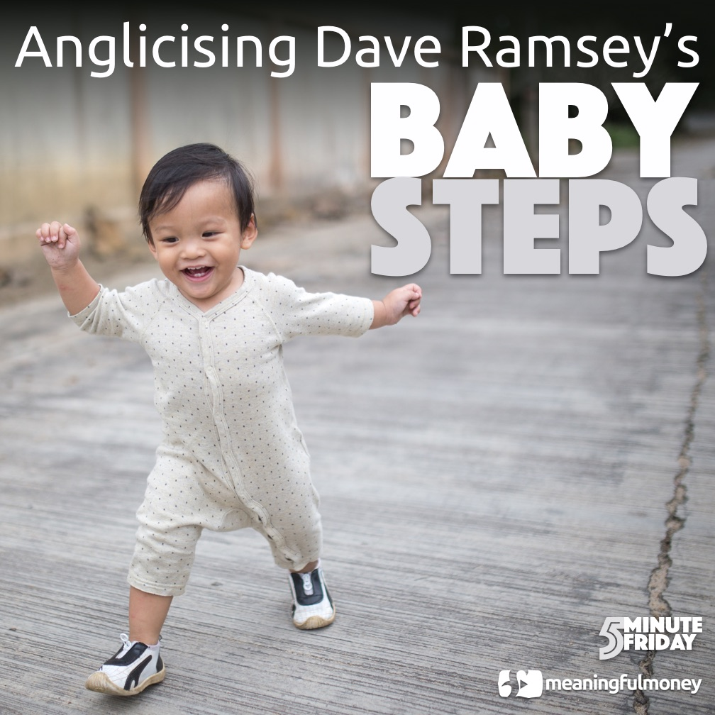 Dave Ramsey's Baby Steps for the UK