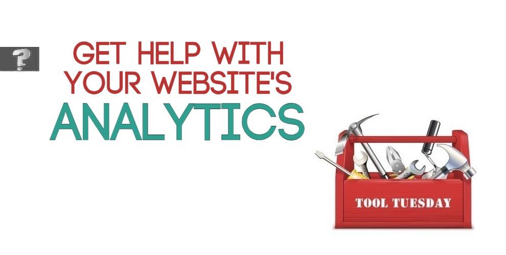 Get help with your website's analytics