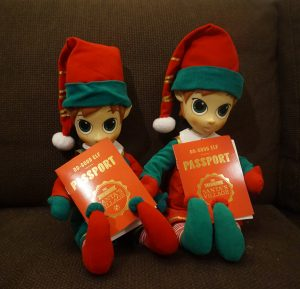 dc56ca8abac26 ... Portable North Pole. Buddy and Holly the Do Good Elves. The ...