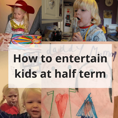 How to entertain kids at half term #halfterm #holidays #schoolbreak #children #activities #kidsactivities