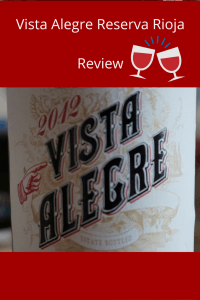 Weekly Winedown Vista Alegre #vistaalegre #redwine #wine #spain #spanishwine #rioja #spanishrioja #riojareview #winereview #redwinereview
