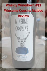 Winsome Cousins Malbec #redwine #frenchwine #frenchred #malbec #frenchmalbec #sinereview #winsomecousins #winetasting