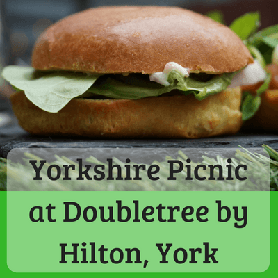 Yorkshire Picnic Doubletree by Hilton York #yorkshirepicnic #afternoontea #yorkshireafternoontea #york #doubletreebyhilton #hilton #york #yorkshire #afternoonteayork #familyfriendlyyork #familyfriendlyafternoontea #yorkshiretea #propertea #properbrew