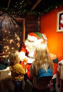 Little Diggers Christmas Grotto Father Christmas