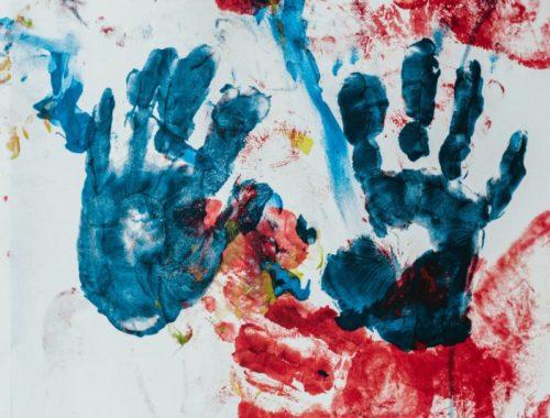 Child handprint