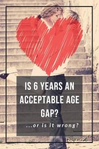 Relationship age gaps