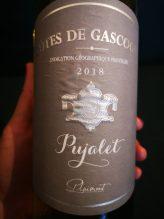 Pujalet Cotes de Gascogne Label