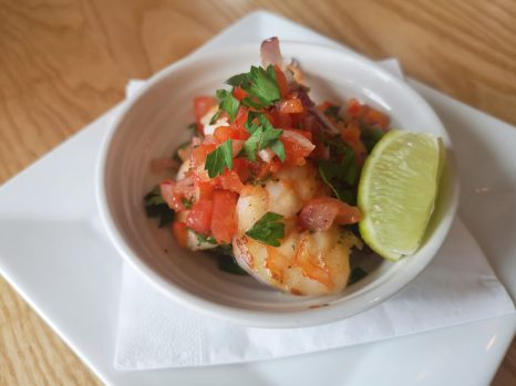 Cookhouse and pub garlic and chilli prawn