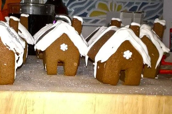 Gingerbread House recipe - Mini houses