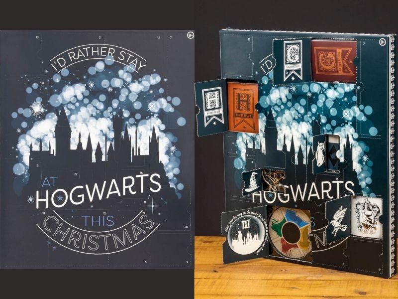 Best Advent Calendars Harry Potter Hogwarts calendar