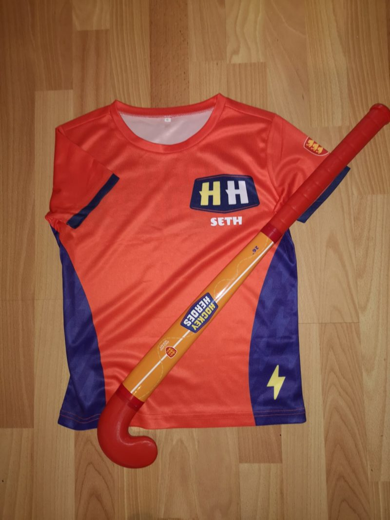 Hockey Heroes T-Shirt and Stick