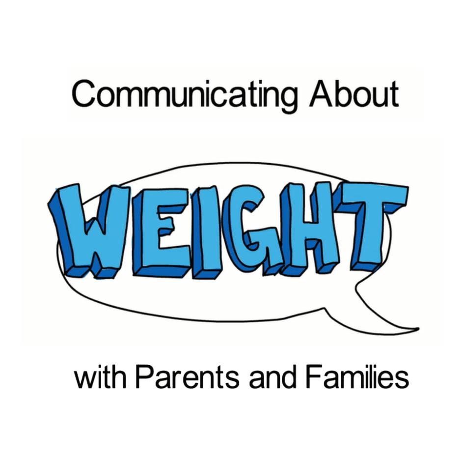 communicating about weight screenshot