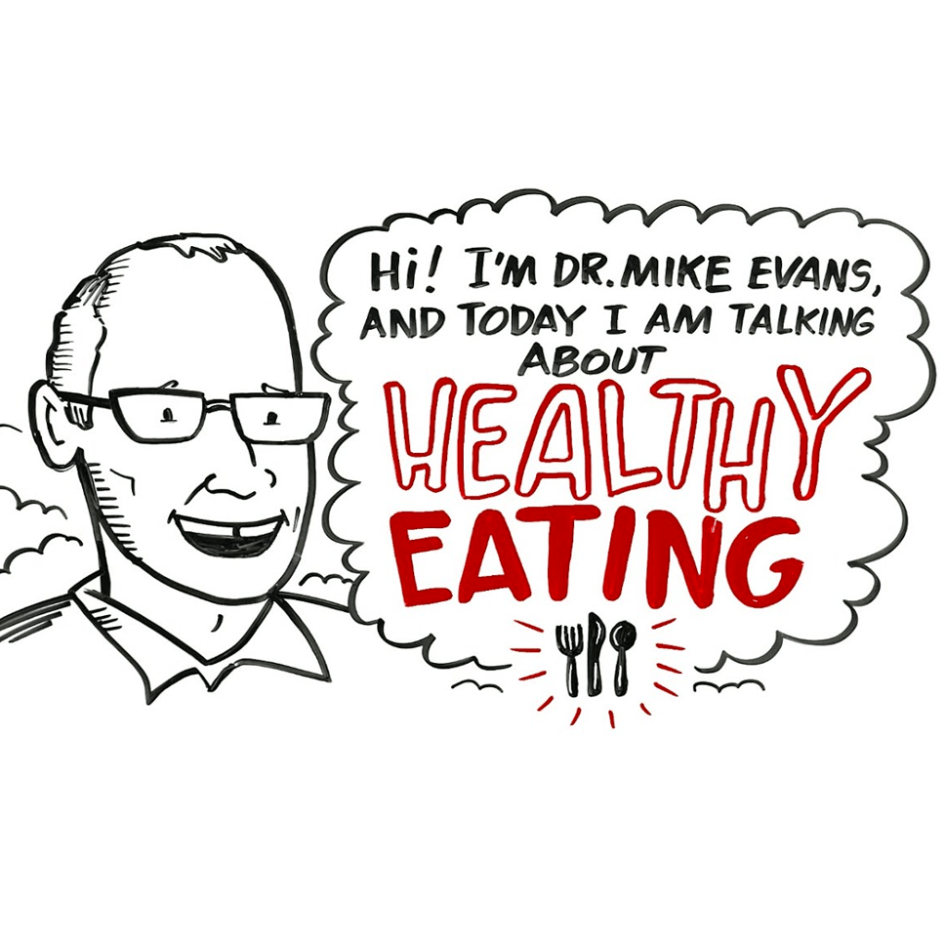 whiteboard drawing doc mike evans nutrition
