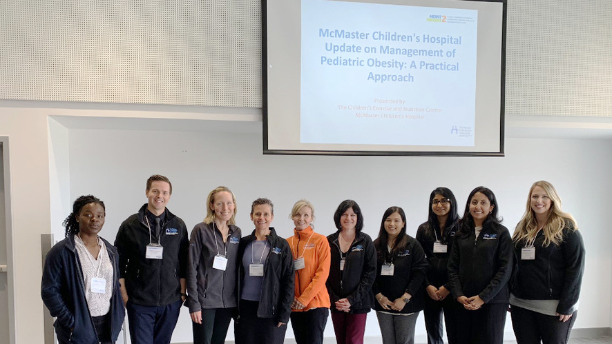Image of group at mcmaster training