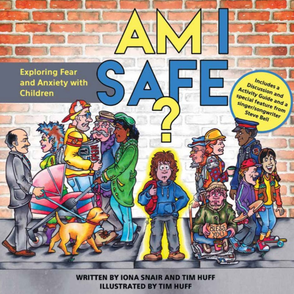 Am I Safe book cover illustrated
