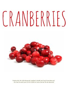cranberry first page branche sante food cards