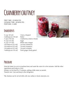 cranberry fourth page branche sante food cards