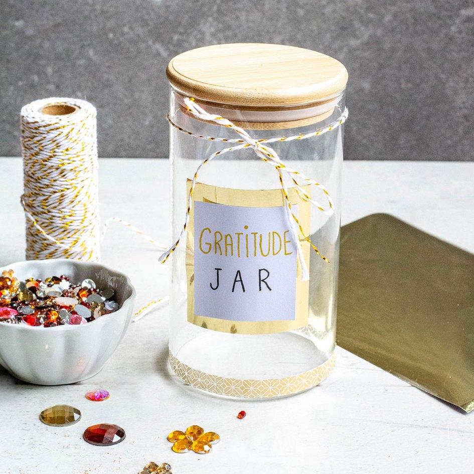 gratitude jar empty