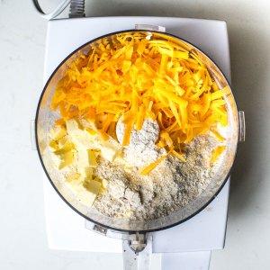 cracker ingredients in food processor