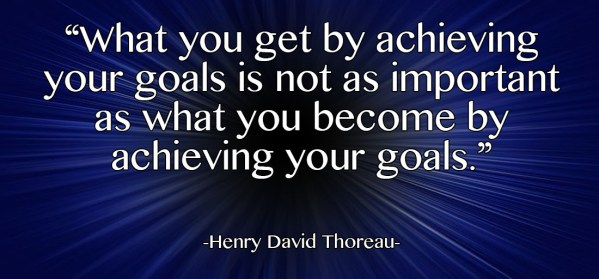 achieving goals meme