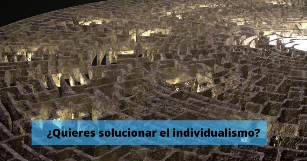 Como solucionar el individualismo en equipo