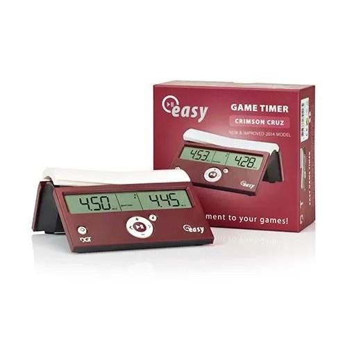 Relógio de xadrez digital DGT Easy Vinho