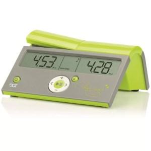 Relógio digital de xadrez DGT Easy Judith Polgar Verde claro limão